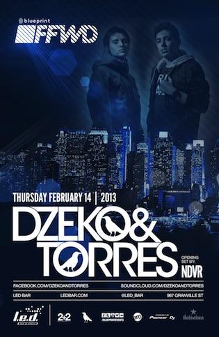 Dzeko & Torres L.E.D Bar Vancouver