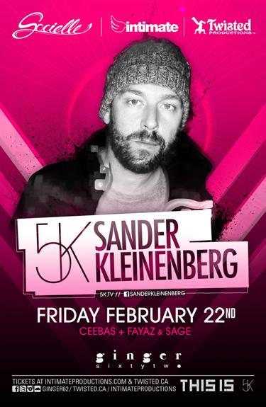 Sander Kleinenberg, Sage, Fayaz + Ceebas Ginger 62 Vancouver