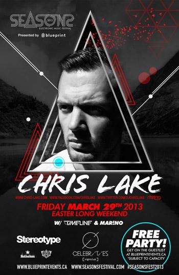Chris Lake, Timeline, Marino Celebrities Vancouver