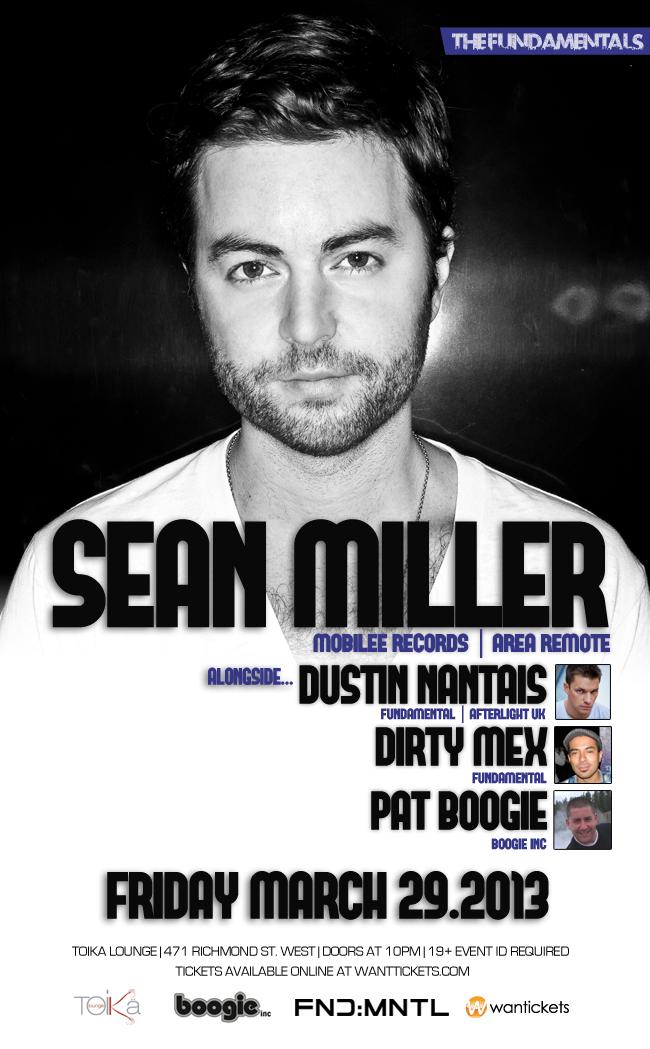 S  ean Miller, Dustin Nantais, Dirty Mex, Pat Boogie Toika Lounge Toronto