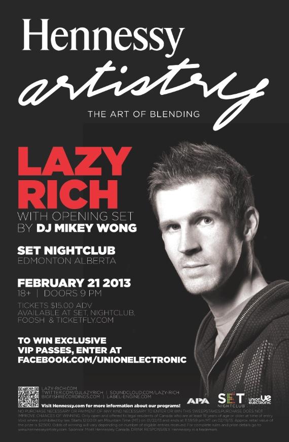 Lazy Rich, DJ Mikey Wong Set Nightclub Edmonton