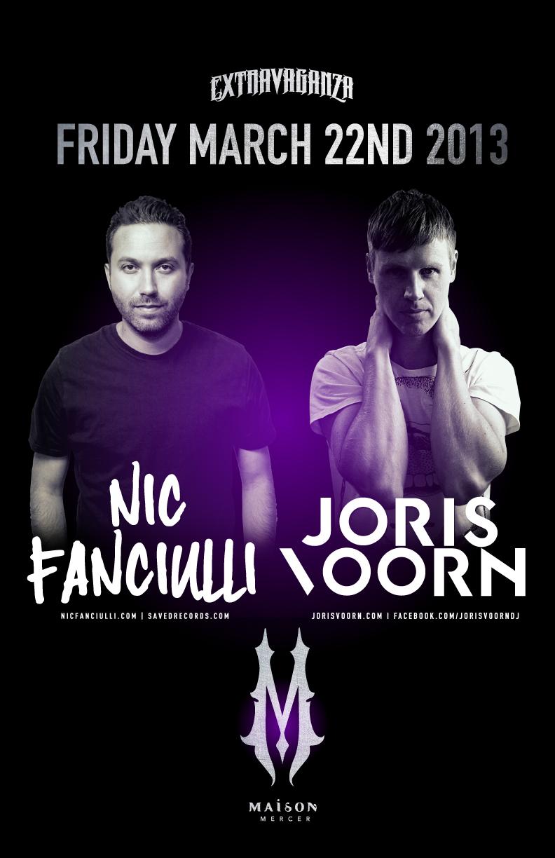 Nic Fanciulli, Joris Voorn (B2B Set) Maison Mercer Toronto