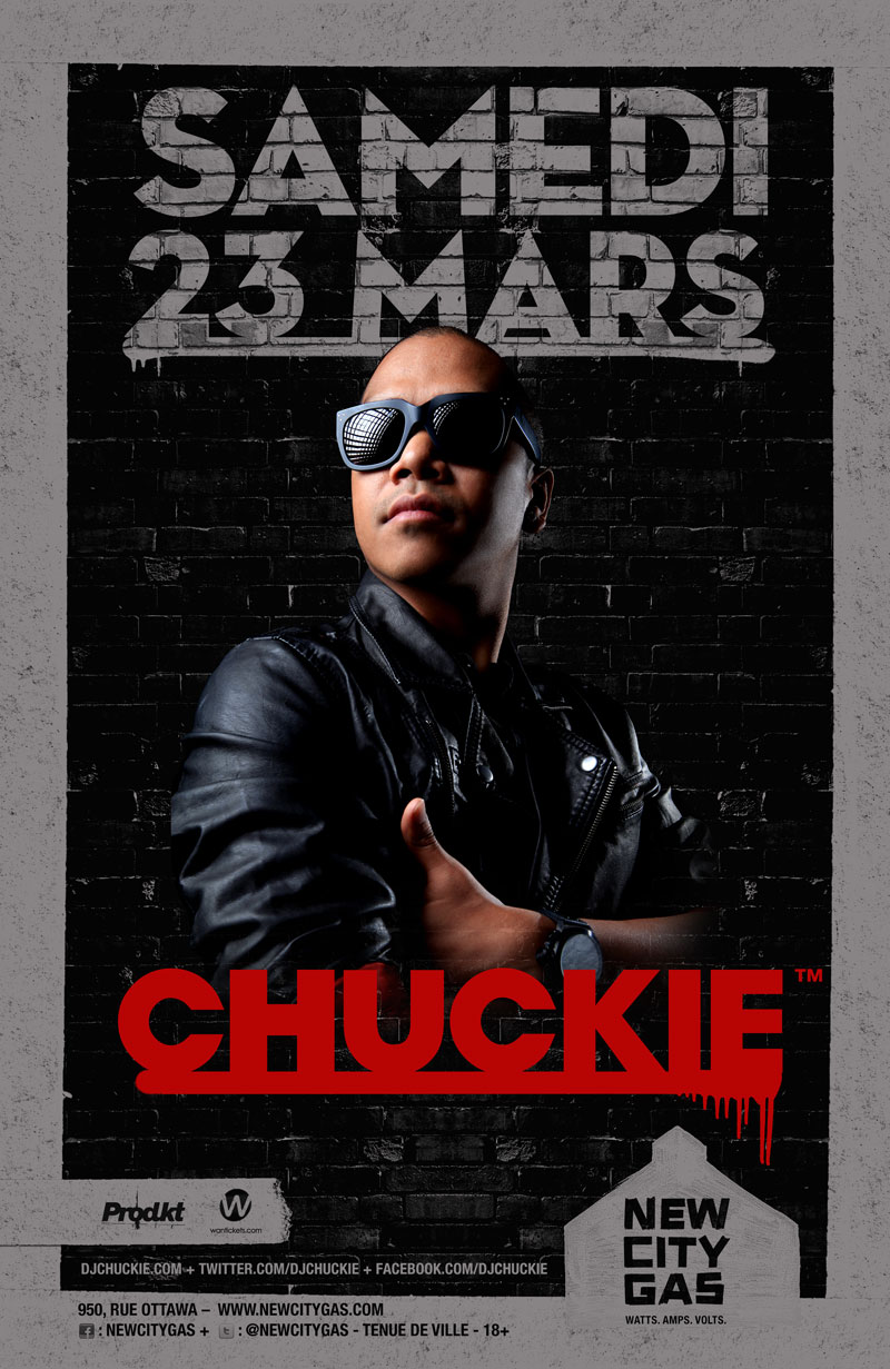 Chuckie at New City Gas Montreal