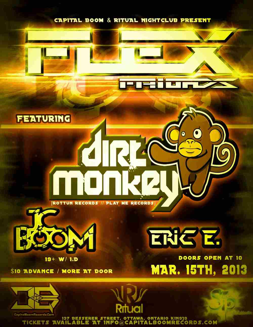 Dirty Monkey, JC Boom, Eric E Flex Friday Ritual