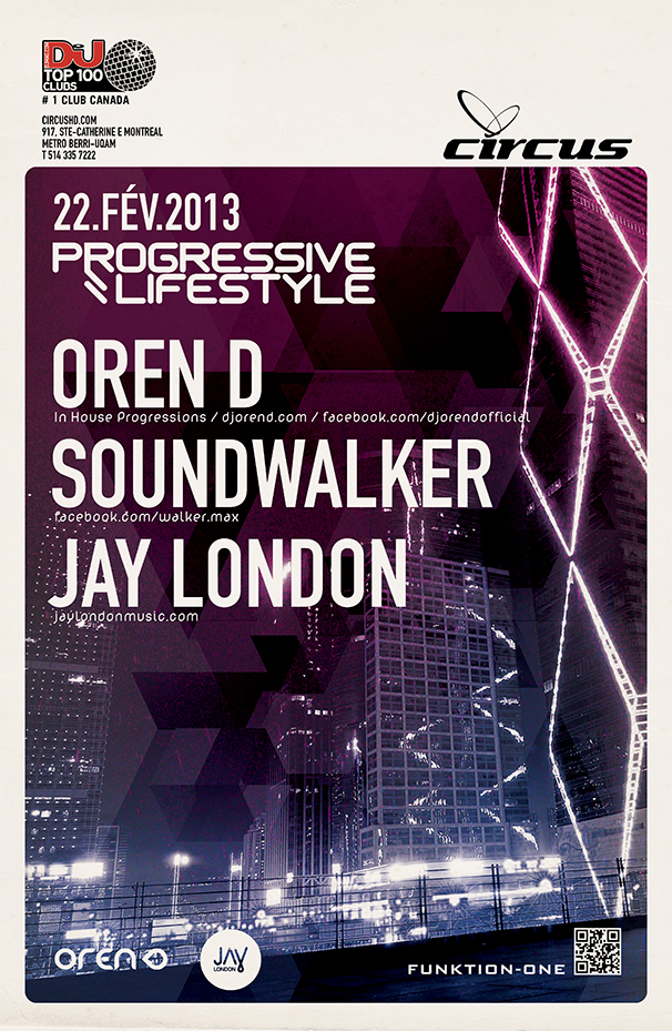 Oren D, Jay London Circus Montreal