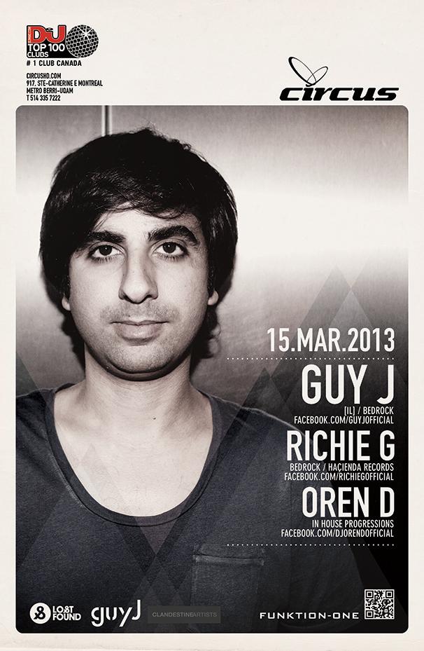 G  uy J, Richie G, Oren D Circus Montreal