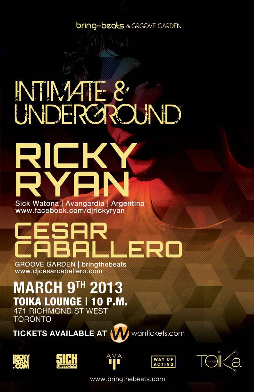Ricky Ryan, Cesar Caballero Toika Toronto
