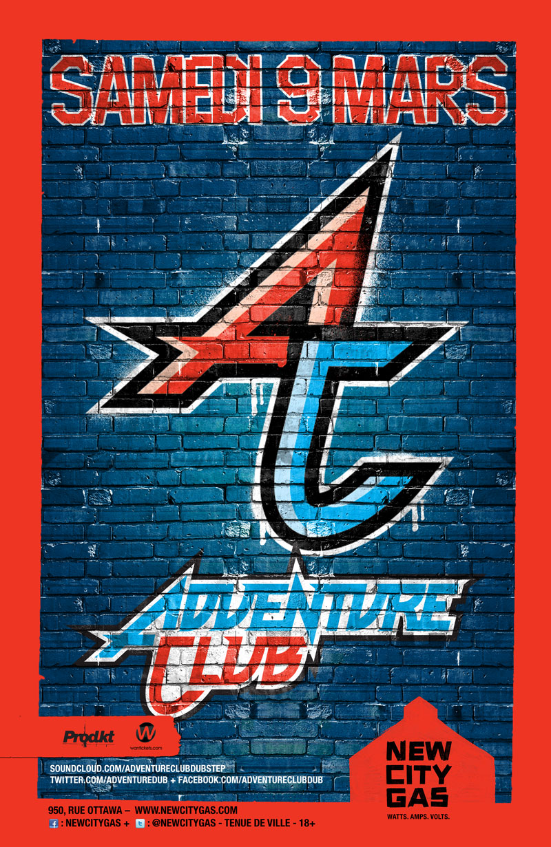 Adventure Club New City Gas Montreal