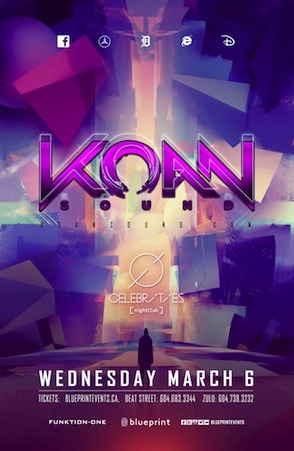 Koan Sound Celebrities Nightclub Vancouve