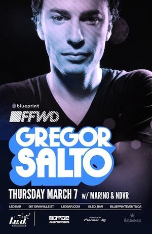 G  regor Salto, Mar!no, NDVR L.E.D. Bar Vancouver