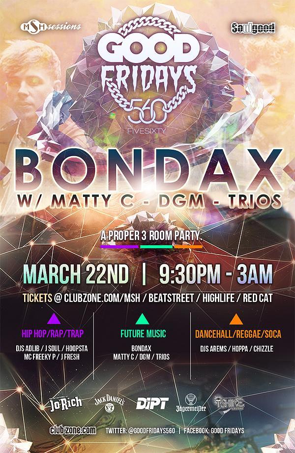 Bondax Five sixty Vancouve