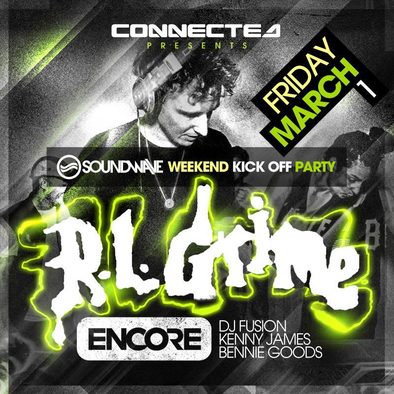 R.L. Grime, DJ Fusion, Kenny James, Bennie Goods Encore Edmonton