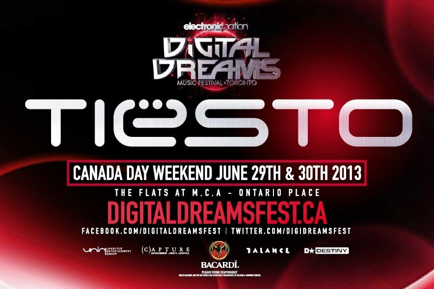 Tiesto Digital Dreams Toronto