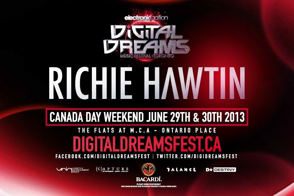 Richie Hawtin Digital Dreams Toront