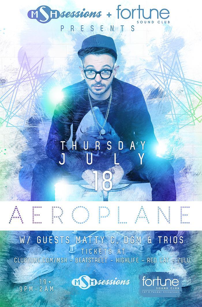 Fortune Sound Club Aeroplane Vancouver