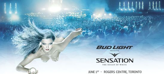 Sensation Canada Toronto June 1st, 2013 at the Rogers Centre