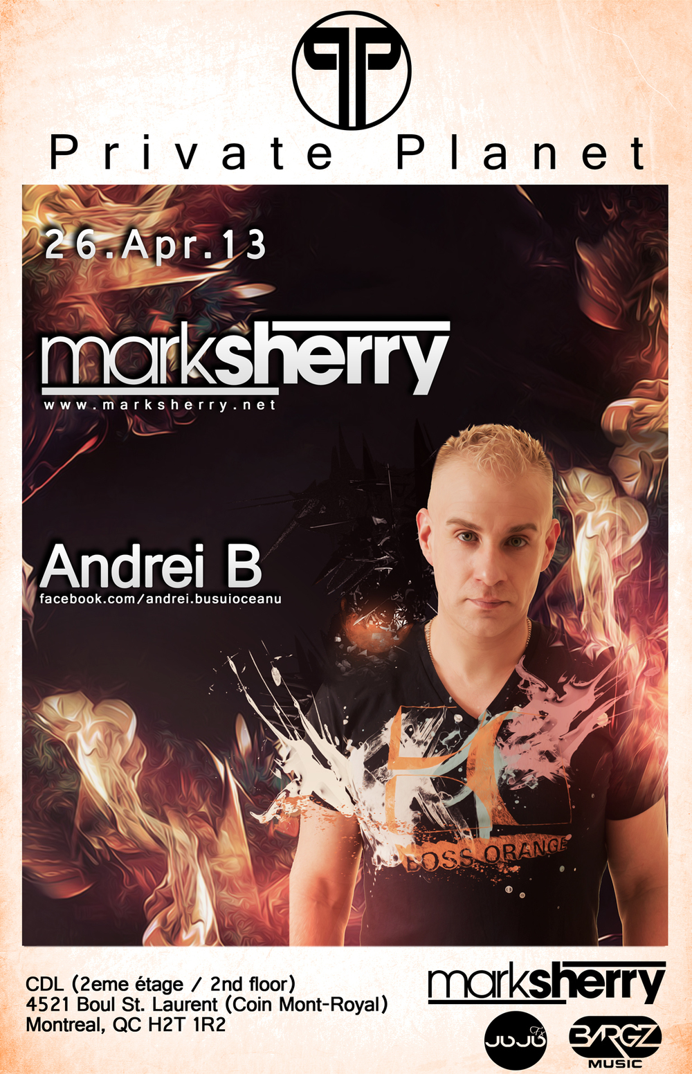 Mark Sherry w/ Andrei B CDL Montreal