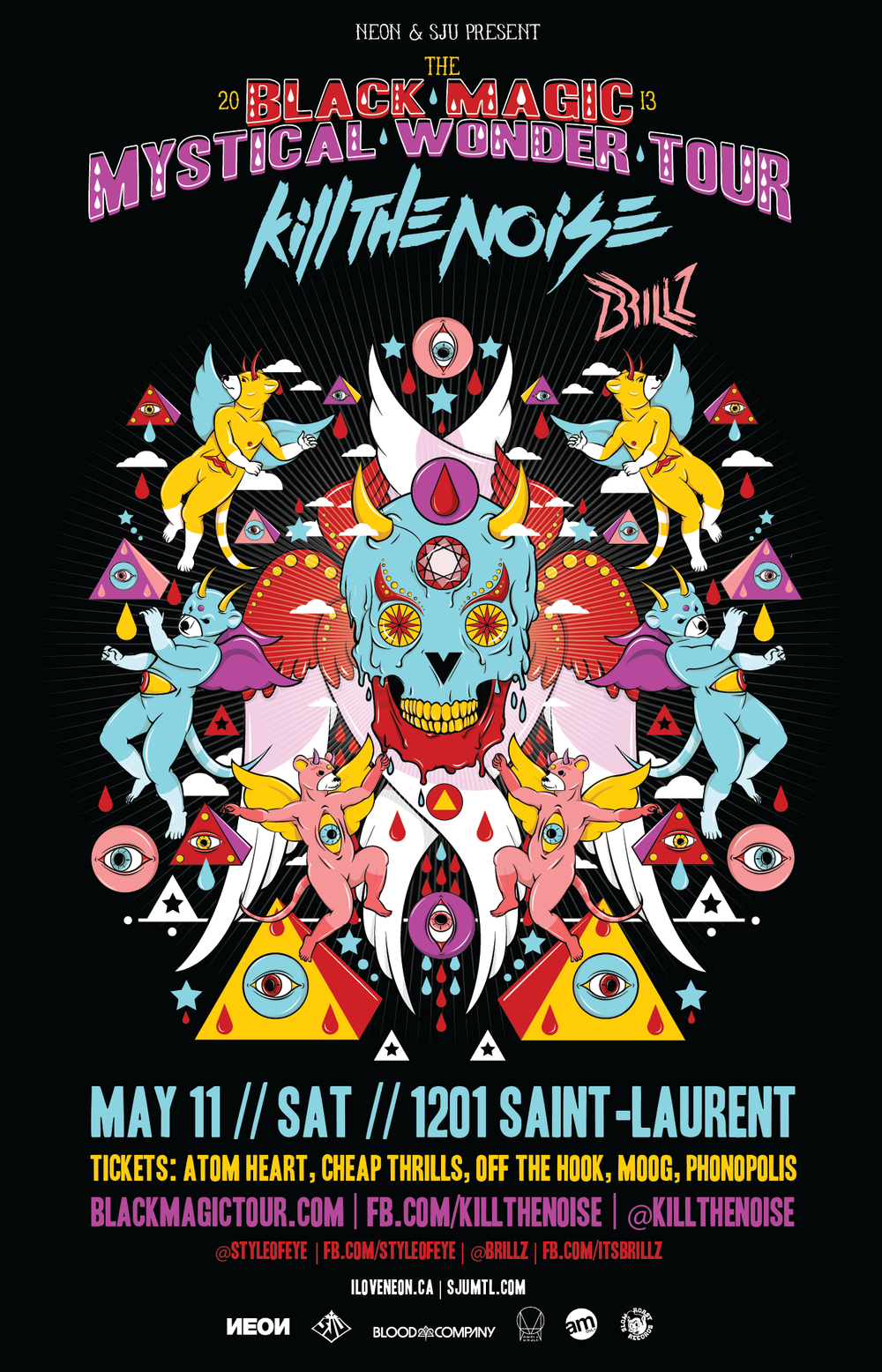 Kill the Noise and Brillz at SAT in Montreal