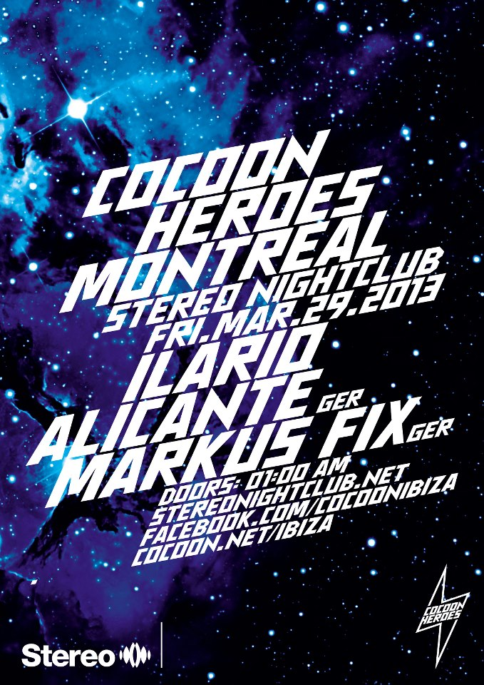 Ilario Alicante, Markus Fix at Stereo Montreal
