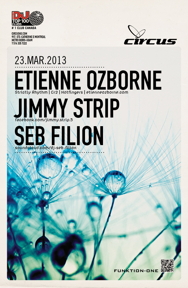 Etienne Ozborne, Jimmy Strip, Seb Filion Circus Montreal