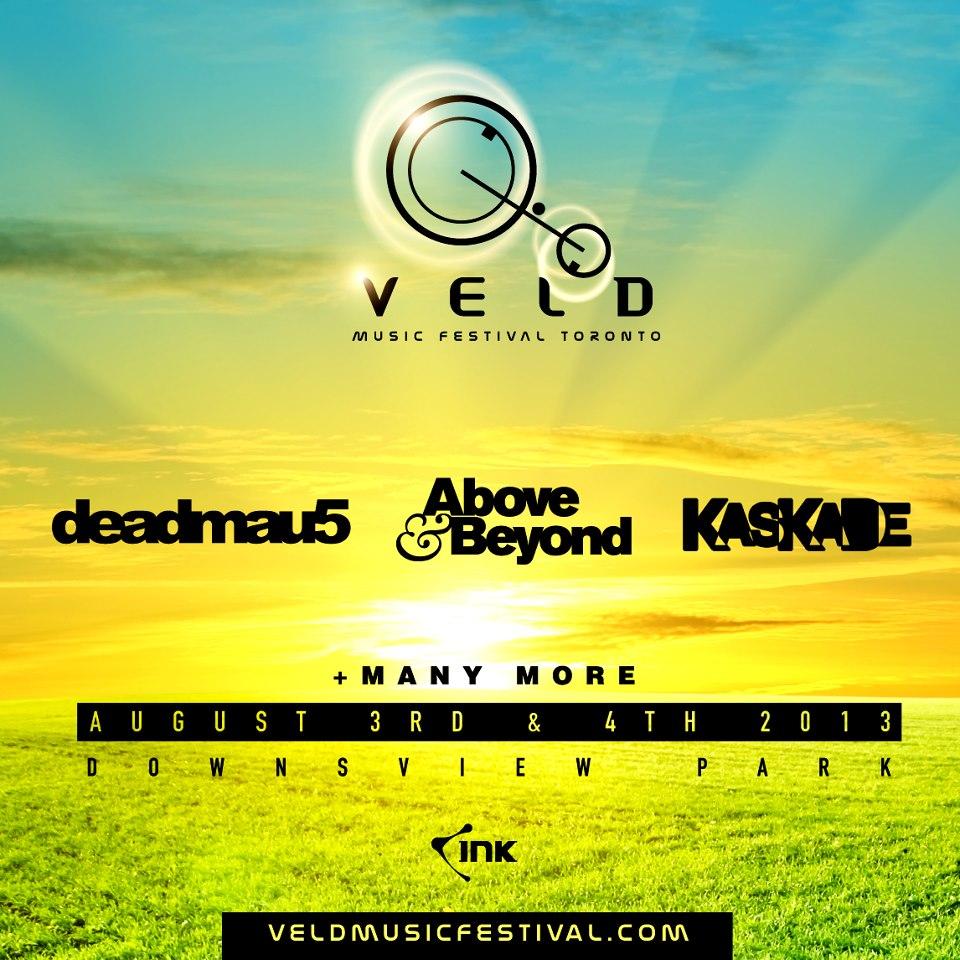 Veld Festival - Deadmau5 - Above & Beyond - Kaskade