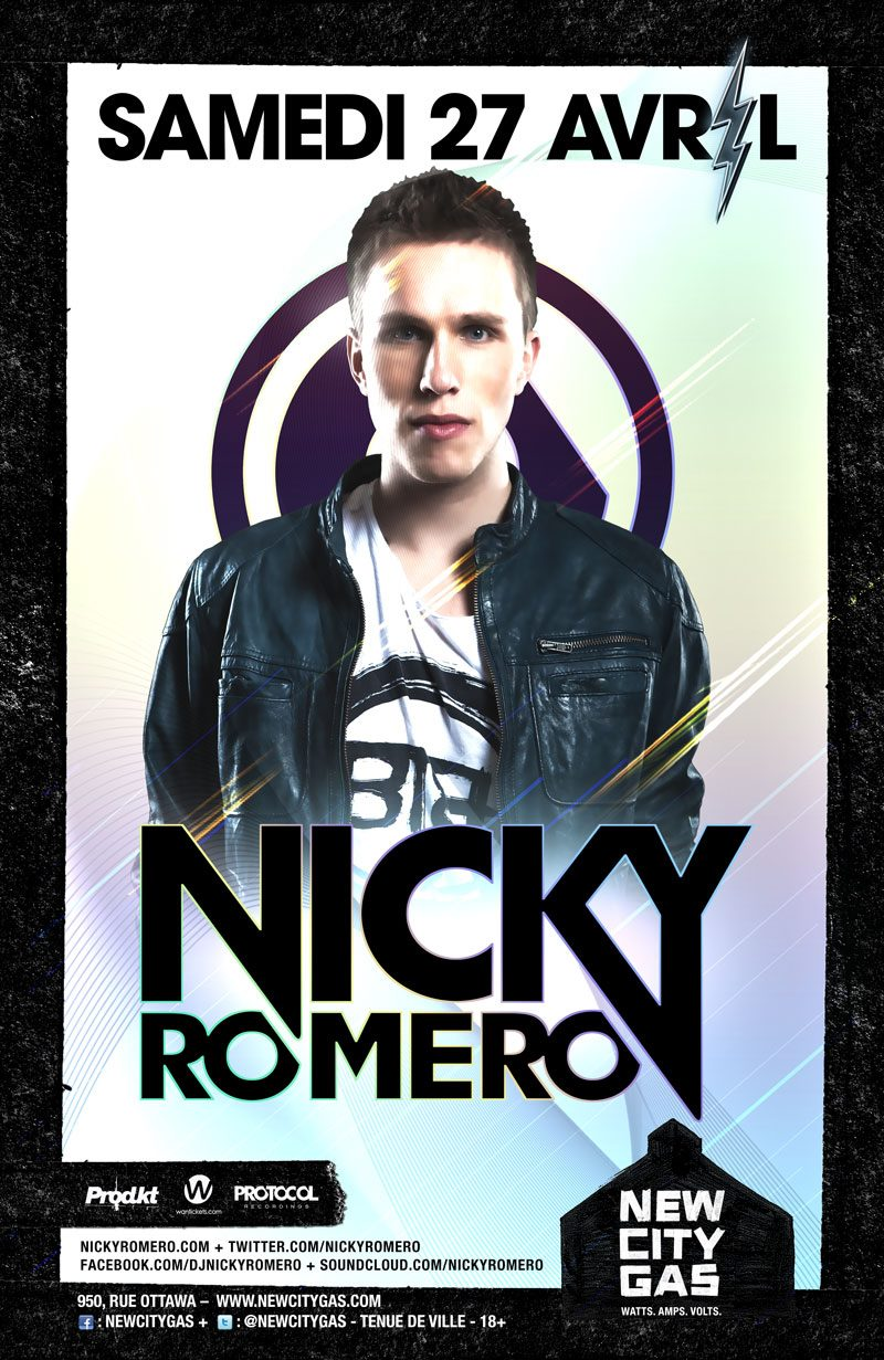 Nicky Romero New City Gas Montreal