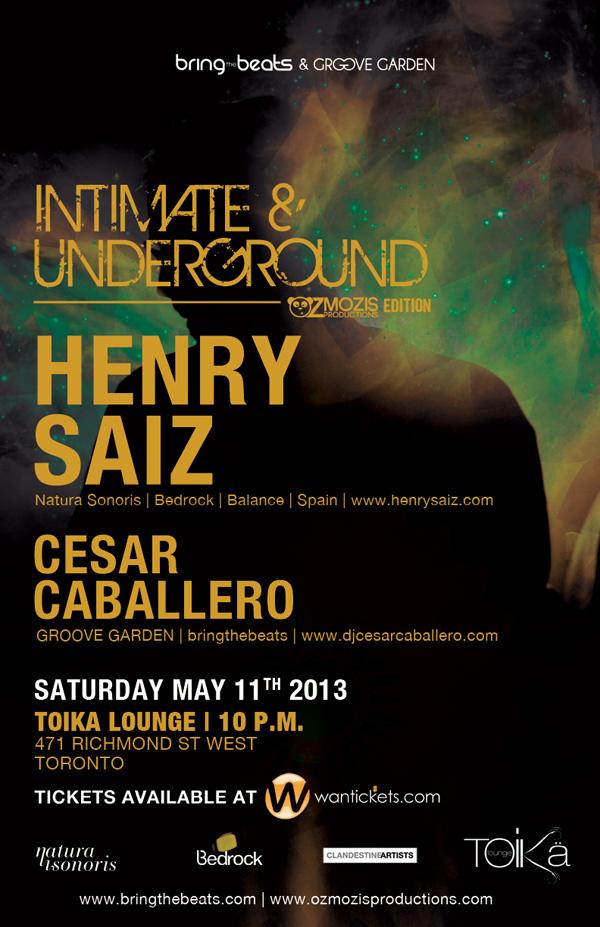 Henry Saiz w/ Cesar Caballero Toika Lounge Toronto
