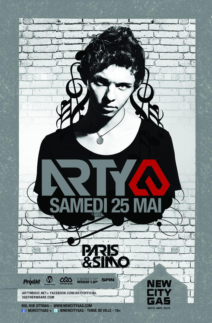 Arty at New City Gas Montreal