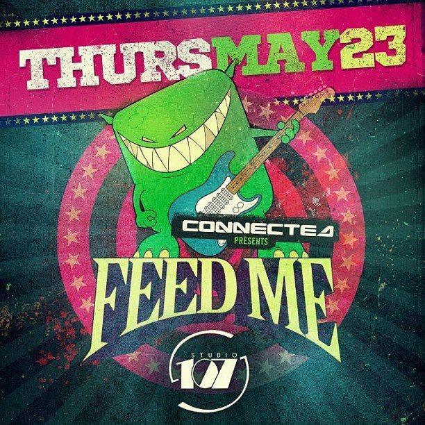Feed Me Edmonton Studio 107