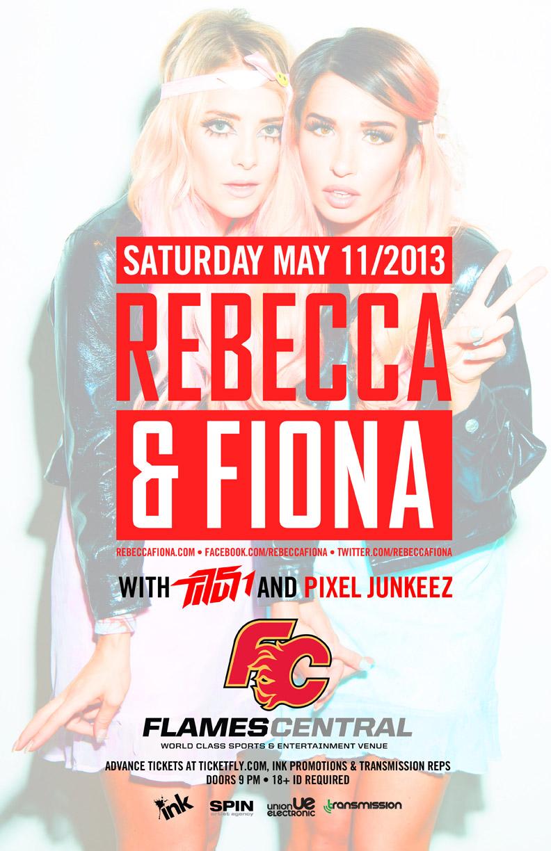 Rebecca & Fiona Flames Central Calgary