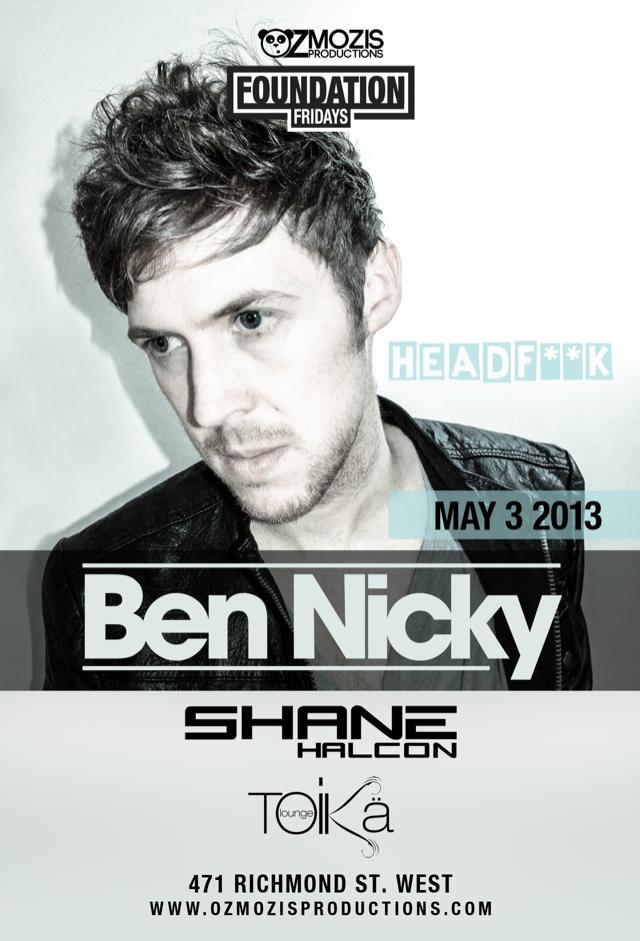 B  en Nicky w/ Shane Halcon Toika Lounge Toronto