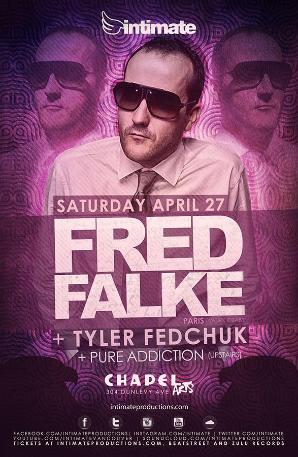 Fred Falke w/ Tyler Fedchuk, Pure Addiction Chapel Arts Vancouver