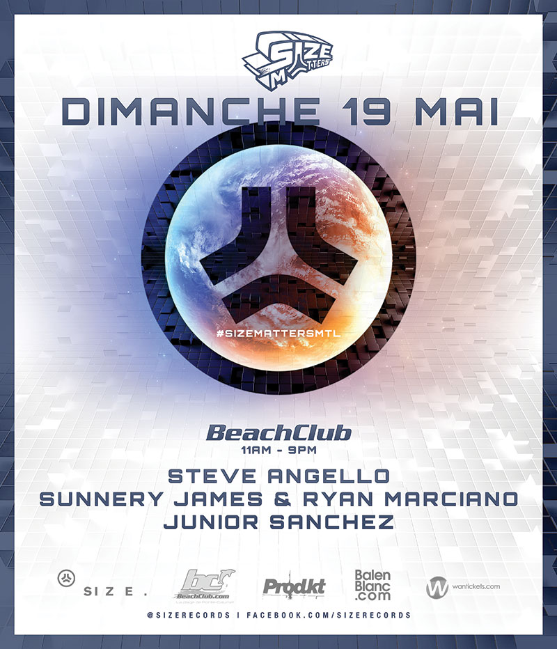 Steve Angello, Sunnery James & Ryan Marciano, Junior Sanchez Beach Club