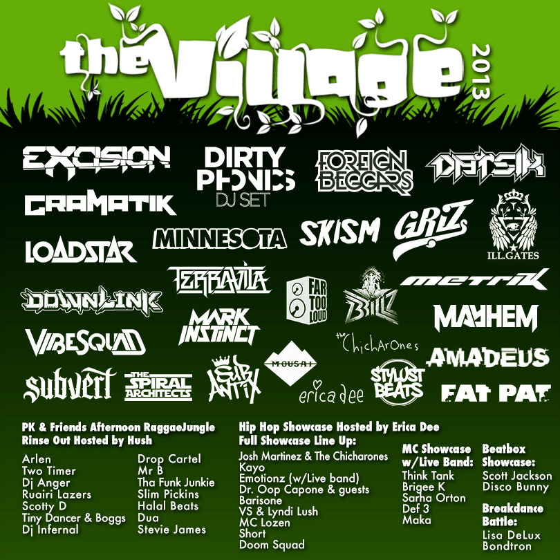 Shambhala 2013 lineup The Village