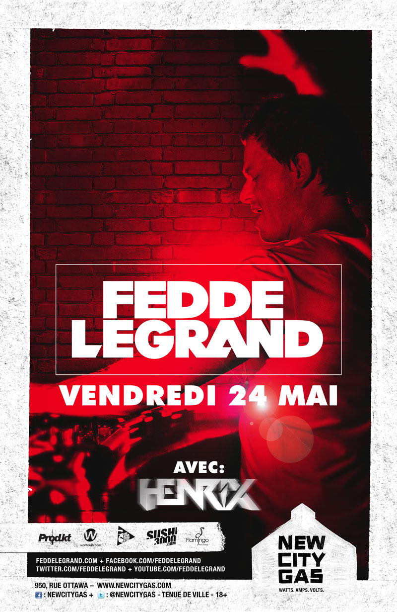 Fedde Le Grand New City Gas Montreal