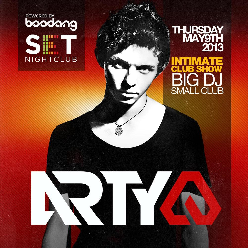 Arty Set Nightclub Edmonton