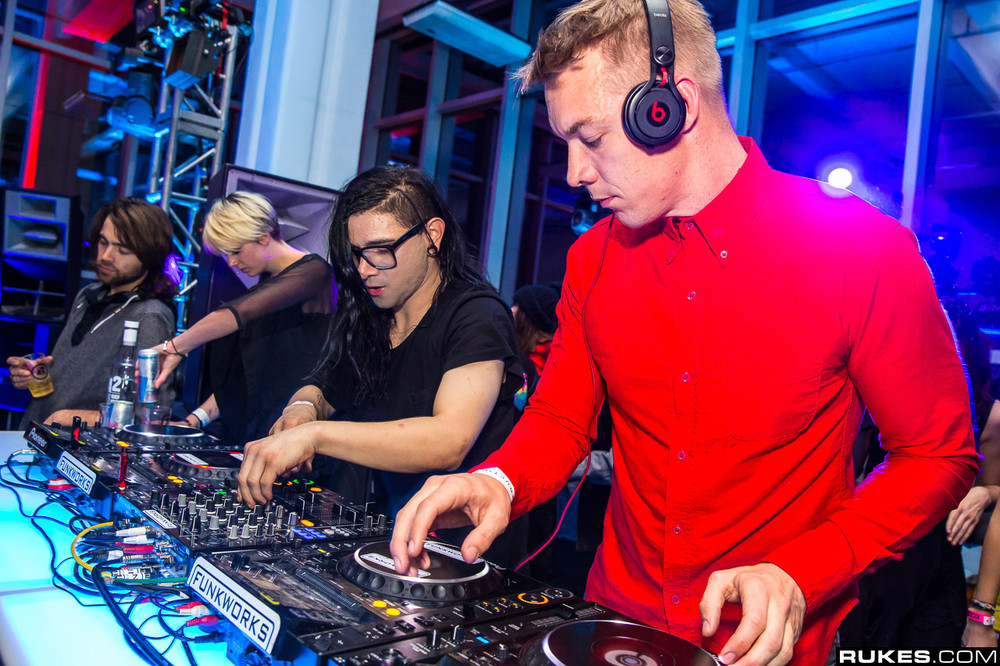 Diplo and Skrillex in L.A (Photo Credit: Rukes)