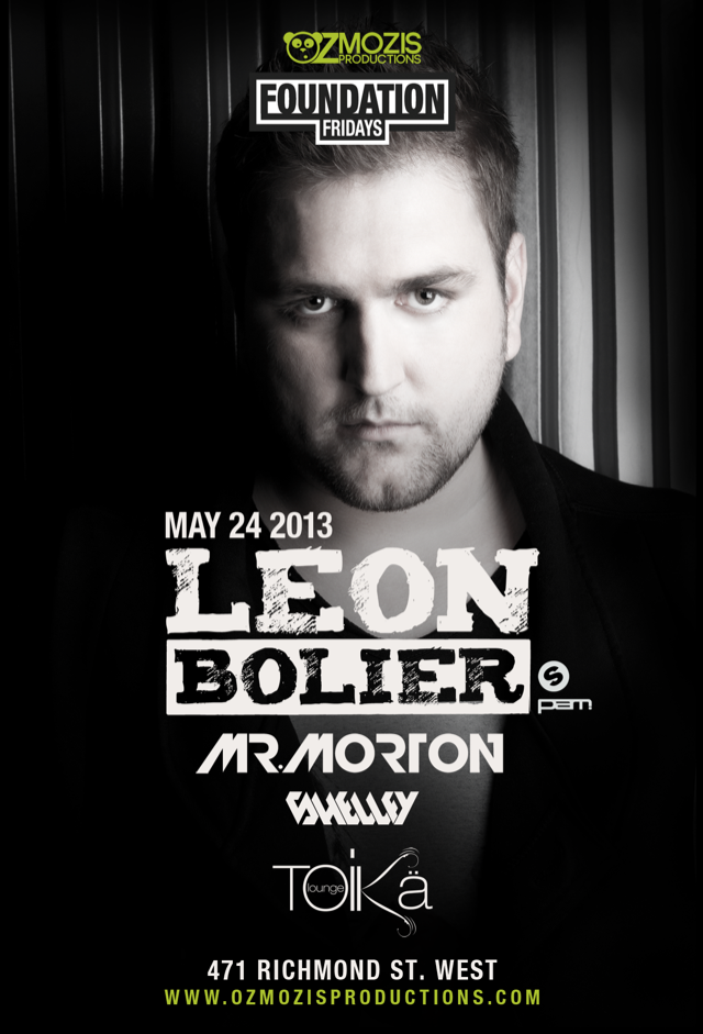 Leon Bolier, Mr. Morton, Shelley Toika Lounge Toronto