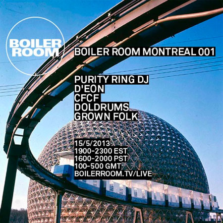 Boiler Room Montreal (Photo from XLR8R)