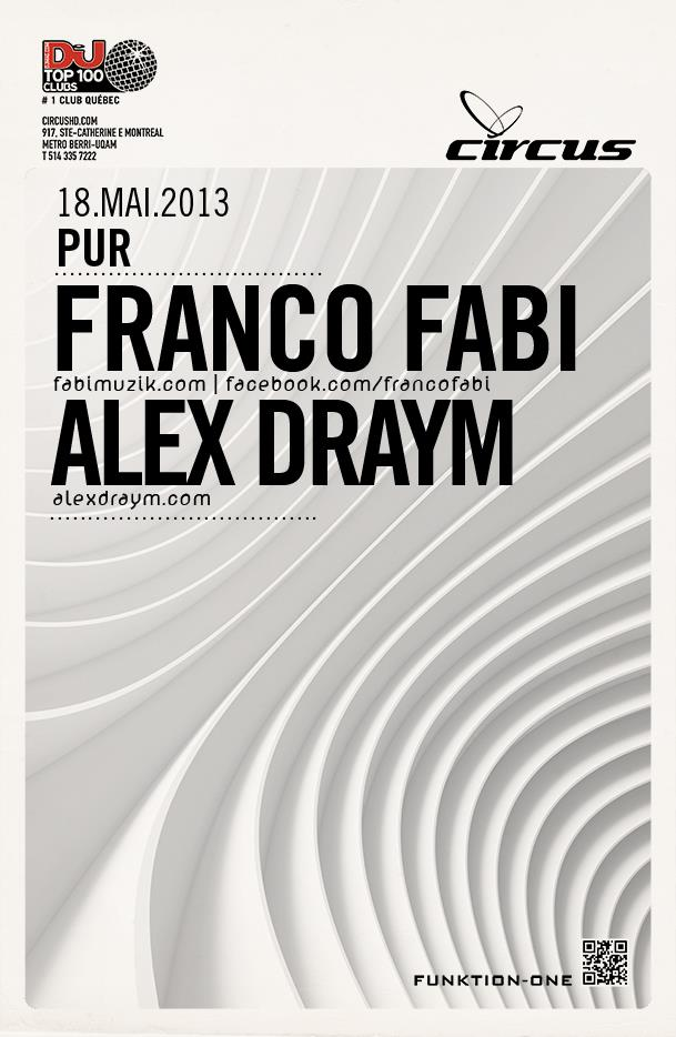 Franco Fabi w/ Alex Draym Circus Afterhours