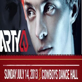 Arty, Sergy Praus, Setzin Cowboys Nightclub Calgary