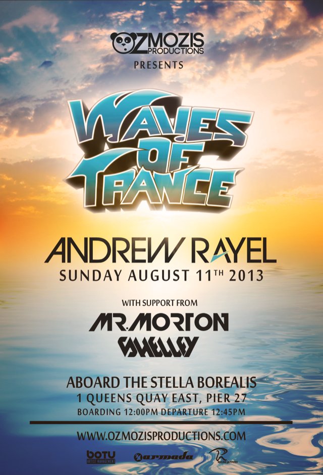 Andrew Rayel, Mr. Morton, Shelley Toronto