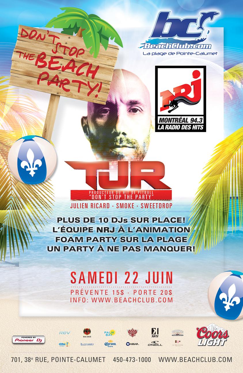 TJR Montreal Beach Club