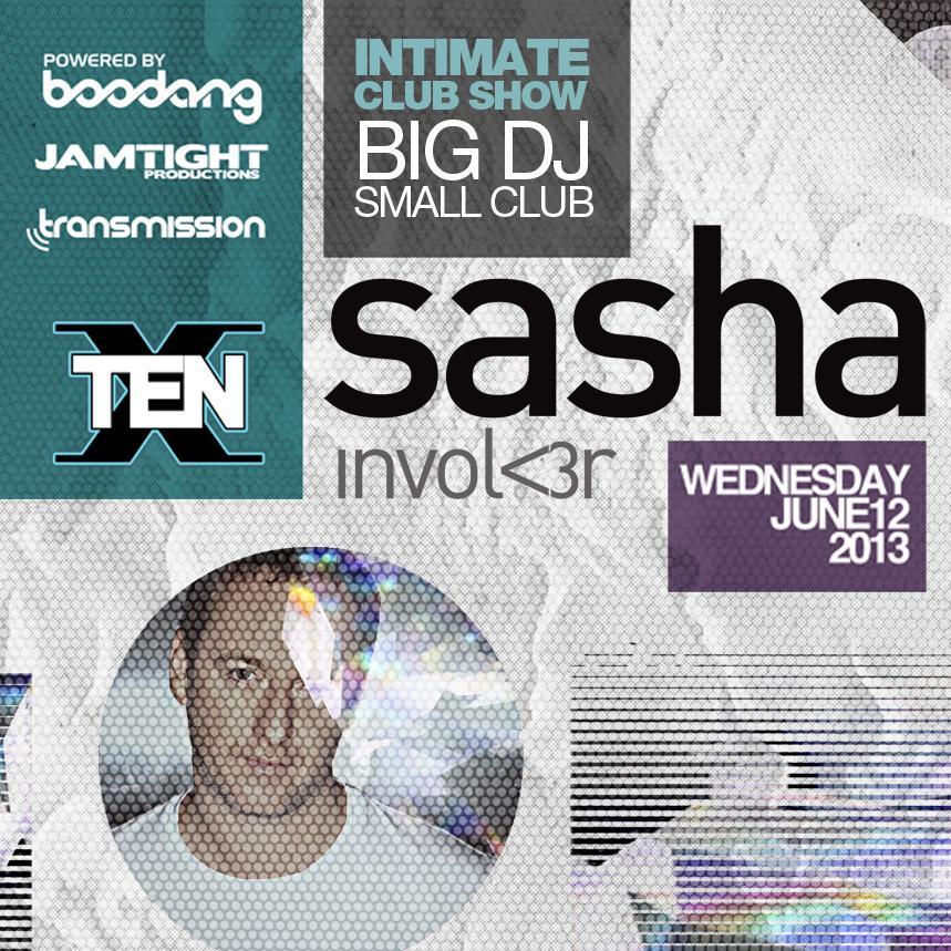 Sasha at Ten Nightclub Calgary