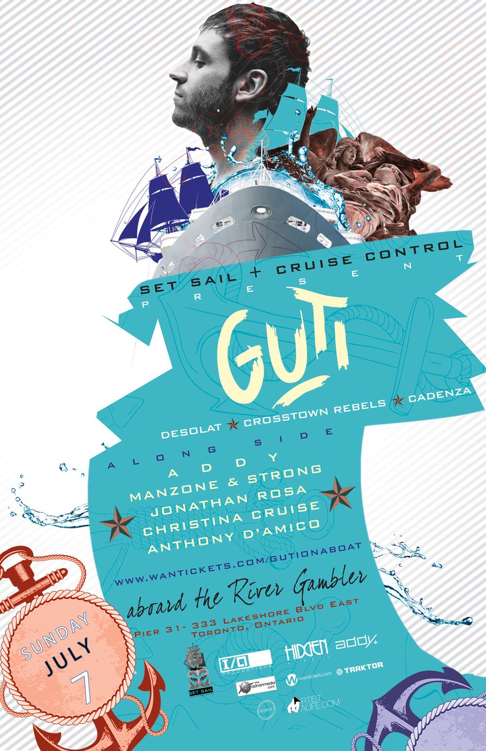 Guti w/ Addy, Manzone & Strong, Jonathan Rosa, Christina Cruise + More Toronto