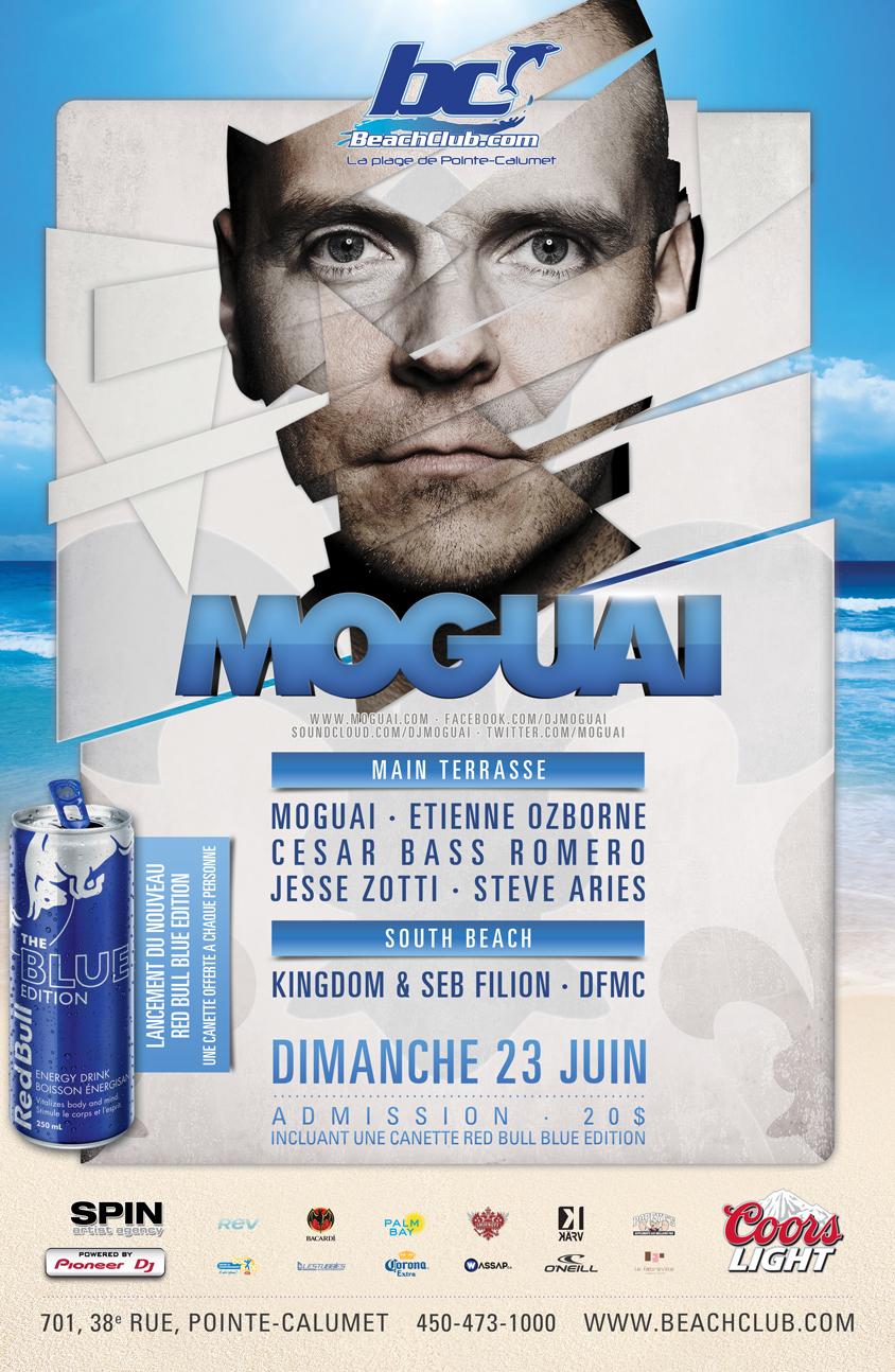 Moguai, Etienne Ozborne, Cesar Bass Romero, Jesse Zotti, Steve Aries Beach Club Montreal