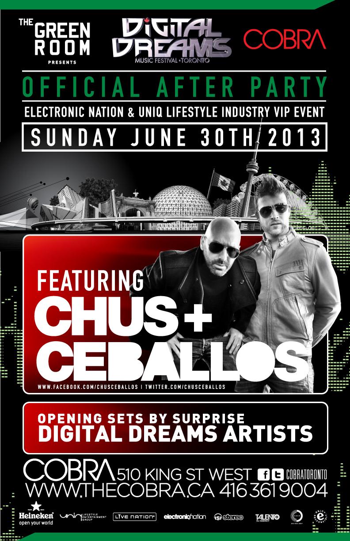 Chus + Ceballos Toronto Cobra