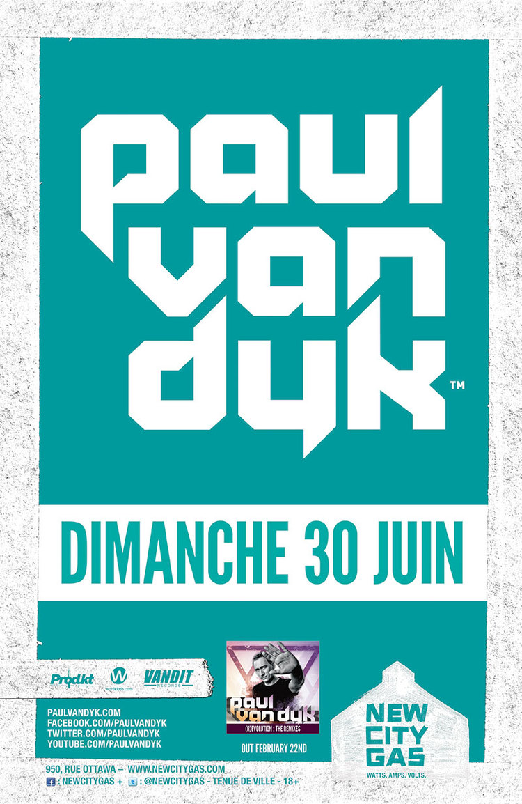 Paul Van Dyk with Max Graham