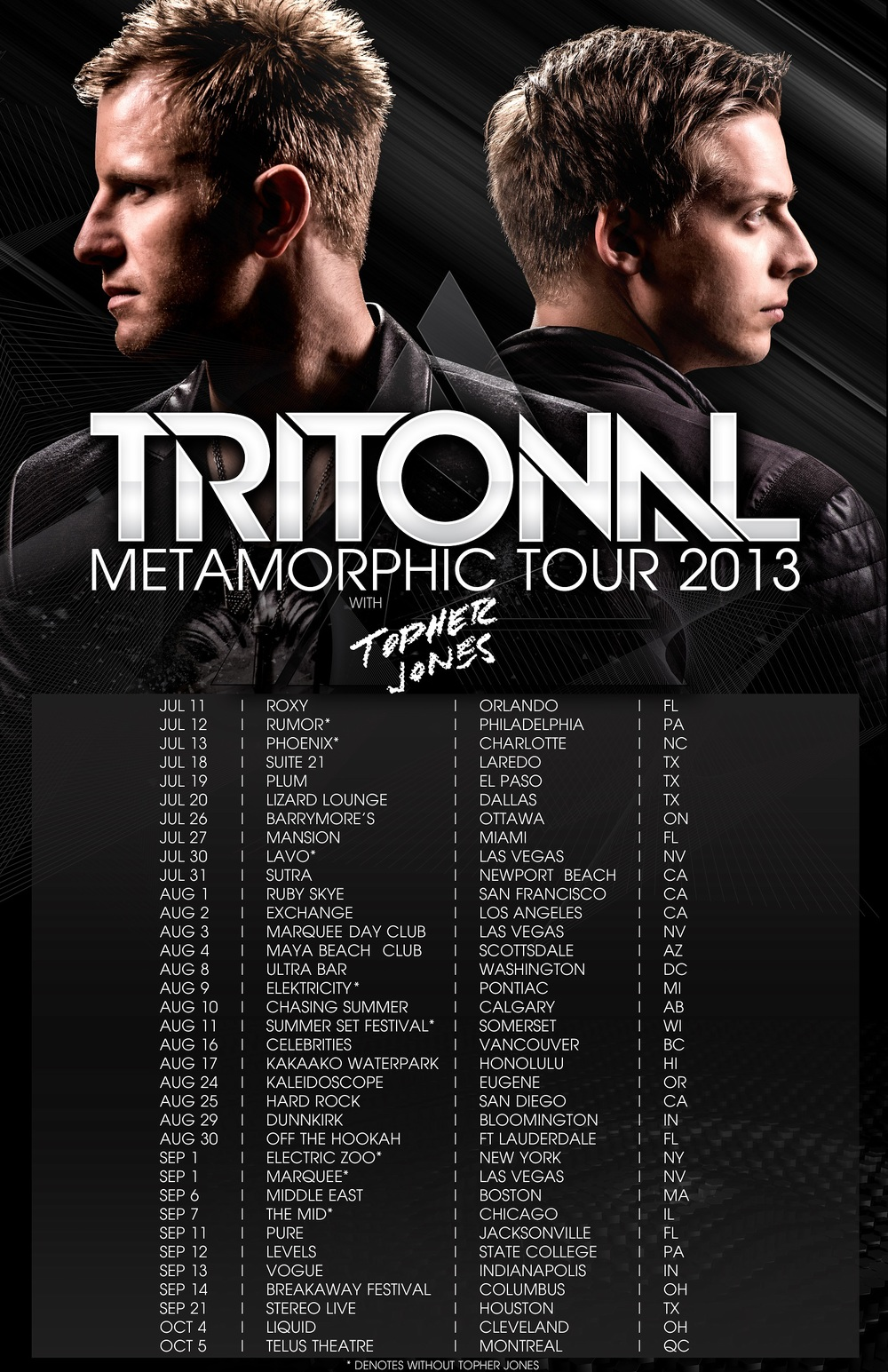 Tritonal, Topher Jones Telus Montreal