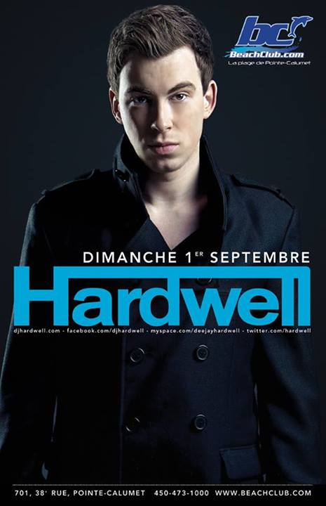 Hardwell Montreal at the Beach Club